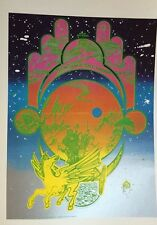 "Hapshash & Coloured Coat & Jefferson Airplane 2 Sided Vintage Poster 15"" x10 R36"