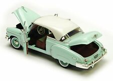 "Motor Max 1950 Chevy Bel Air 1:24 scale 8"" diecast model car Mist Green M108B"