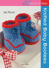 Twenty To Make Knitted Baby Bootees by Val Pierce (Paperback, 2011)