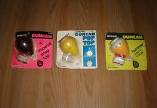 3 Vintage Genuine DUNCAN Hummer-Imperial Snap Top-Sir Duncan Pop Top, SEALED,USA