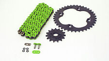 2009 2010 Suzuki LTR450 450 QuadRacer Green O-Ring Chain And Sprocket 14/40