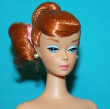 Vintage BARBIE Reproduction NUDE TITIAN Copper PENNY Red Swirl Ponytail EXCLLENT
