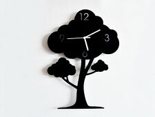 The Giving Tree - Silhouette Wall Clock