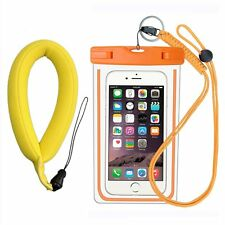 [2016 New Release] Reechin IPX8 Waterproof Case with Float Foam Floating Wrist