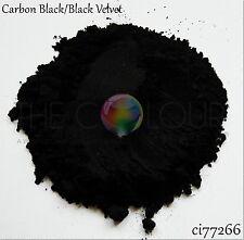 The Colour Shack® & GNI® Cosmetic Grade *BLACK/SILVER* Colour/Mica/Pigment/Oxide