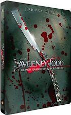 SWEENEY TODD - The Demon Barber of Fleet Street (BLU-RAY STEELBOOK EDITION LIM.)