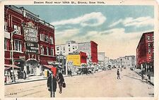 1922 Stores McKinley Square Theatre Boston Rd. near 169th St. Bronx NY post card