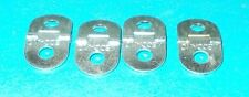 meccano part No114, 4 hinges brand new all stamped