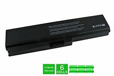 Toshiba Satellite U400, Satellite U405, Satellite U500 Laptop Battery - 6 Cell