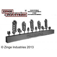 Zinge Industries Robotic Servo Arm - Set of 3 Arms - Arms only Sprue S-SER02