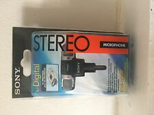 Sony ECM-DS70P Stereo Condenser Cable Microphone (3.5mm input) NEW