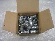 EGS, EMT Connectors Gland compression Type, Steel EMT, Steel Zinc Plated. 328308