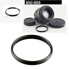 M39-M42 Metal Step Up/Down Ring Adapter M39 to M42 Screw Lens Mount UK Seller