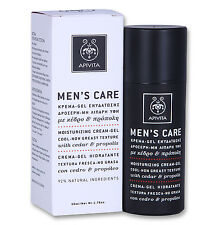 Apivita Men's Care Moisturizing Face Cream Gel Non Greasy With Cedar & Propolis