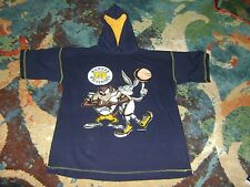 VINTAGE 90s Michigan Wolverines LOONEY TUNES T-Shirt Hoodie BUGS BUNNY Taz 1995