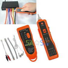 Telephone Network RJ Tool Cable Wire Line Tracking Tracker Toner Tracer Tester