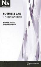 Nutshell: Business Law (3rd Ed.)  by Gibson & Fraser