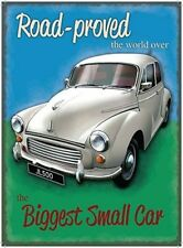 MORRIS MINOR CAR NOSTAGIC TIN SIGN METAL PLAQUE WALL ART OTHER CARS LISTED 696