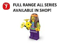 Lego minifigures hippie series 7 (8831) unopened new factory sealed