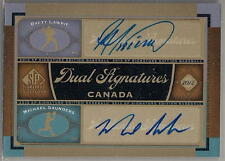 2012 SP DUAL SIGNATURES BRETT LAWRIE and MICHAEL SAUNDERS AUTO #CAN1
