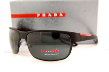 Brand New Prada Sport  Sunglasses PS 50Q 50QS DG0/1A1 BLACK/GRAY  Men