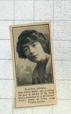1925 Miss Athene Seyler Taking The Part Of Hermia