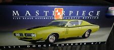 AMT Masterpiece 1/25 1971 DODGE CHARGER R/T Model Car Mountain NIB PRE-ASSEMBLED