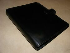 Vintage Filofax Organiser, Brown Leather Binder Produced for Barclays Bank, Rare