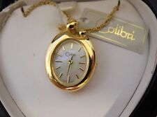 Colibri Mother & Child Pendant Watch NEW W/Chain  in Heart box