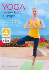 Yoga for Belly, Butt & Thighs with Chrissy Carter (DVD, 2014) VG@