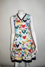 JIL SANDER NAVY MADE IN ITALY  $1320 MULTICOLOR SHEATH DRESS SIZE 38    13