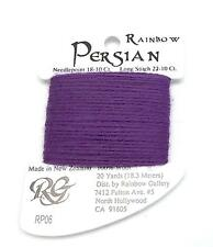 "Persian Wool ""Purple Heart"" Single Ply Needlepoint Thread by Rainbow Gallery"