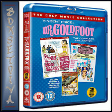 THE DR GOLDFOOT  - COMPLETE BLU-RAY COLLECTION (WITH BONUS DVD)   **BRAND NEW**