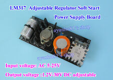 Tube Amplifier Filament LM317 Adjustable Regulator Soft Start Power Supply Board