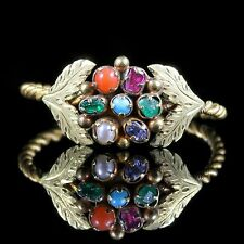 ANTIQUE GEORGIAN GEM STONE RING 18TH CENTURY CIRCA 1730 RESPECT