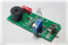 Battery low voltage warning w/Buzzer Adjustable Lithium NiMH NiCD ion phosphate