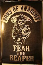 """2014 SOA Sons of Anarchy Fear The Reaper 24 x 36"""" Poster TV Show FX PP33429"""