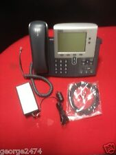 Cisco 7960G IP PHONE, CP-7960 multi-line IP telephone + POWER SUPPLY  AA25480L