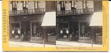 Houseworth Stereo - Chinese Store, Chy Lung & Co., Sacramento St, # 391 - c1870s