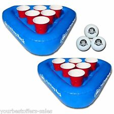 GoPong Floating Beer Pong Beer Pong Balls Beer Pong Cups Pool Games Brand New