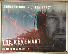 Cinema Poster: REVENANT, THE 2016 (Main Quad) Leonardo DiCaprio Tom Hardy