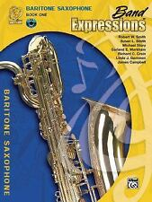 Band Expressions, Book One Student Edition: Baritone Saxophone, Book & CD (Expre