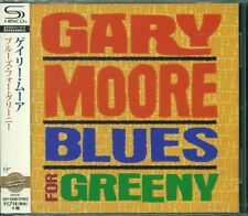 BLUES FOR GREENY Remastered 2015 SHM CD +2 BONUS TRX by GARY MOORE - NEW