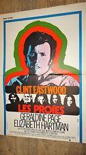 clint eastwood LES PROIES   ! affiche cinema