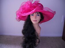 Kentucky derby hat hot pink