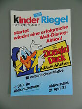 ENFANTS VERROU: Prospectus Donald Duck classe Colle 1988 La meilleure condition,