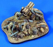Verlinden 1/35 Nebelwerfer Base, Ammunition, Gear & Crew WWII (3 Figures) 2766