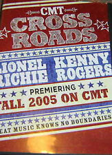 CROSSROADS DVD, Lionel Richie, Kenny Rogers, CMT, 2005 - Very Rare!!