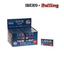 PAPEL DE FUMAR CAJA OCB AZUL X-PERT BLUE 300 ROLLING PAPER CAJA 40 LIBRITOS