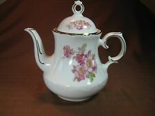 Schumann Arzberg Germany Briar Rose Coffe Carafe Golden Crown #49 Gold Trim